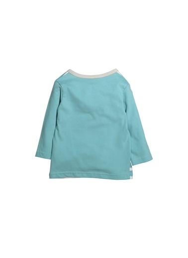 Zeyland Çizgili Parça Detaylı Sweatshirt (6ay-4yaş) Çizgili Parça Detaylı Sweatshirt (6ay-4yaş) Mavi